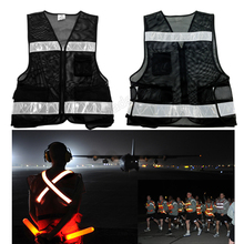 New style High Visibility Reflective screen fabric safety vest