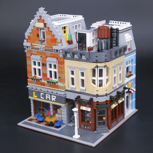 Compatibe Legoing 10259 Moc Ideas Lepin 15034 4210pcs Street View