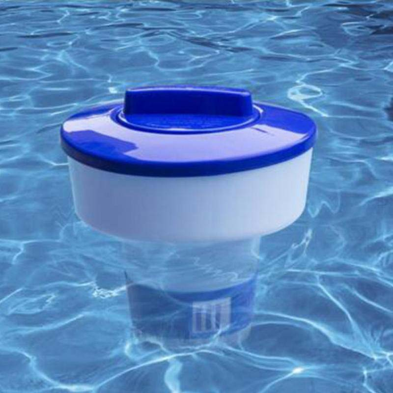 2018 New Arrivials Swimming Pool Spa 5/8 Inch Chlorine Bromine Chemical Tablet Tab Floater Dispenser For Swimming Pool