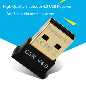Image 1 - New Bluetooth USB Adapter mini USB Dongle for Computer PC Wireless USB Bluetooth Transmitter 4.0 Music Receiver  Adapter