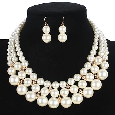 Jewelry Set Women Necklace...