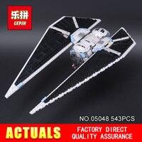 NEW LEPIN 05036 1685pcs TIE Fighter Star Wars Model Building Blocks Bricks Classic Compatible 75095 Boys