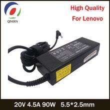 20 в 45a 90 Вт 55*25 мм зарядное устройство для ноутбука lenovo