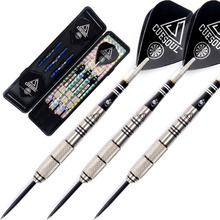 лучшая цена Free Shipping CUESOUL 22 Grams Steel Tip Tungsten Darts with Slim Case 90% Tungsten