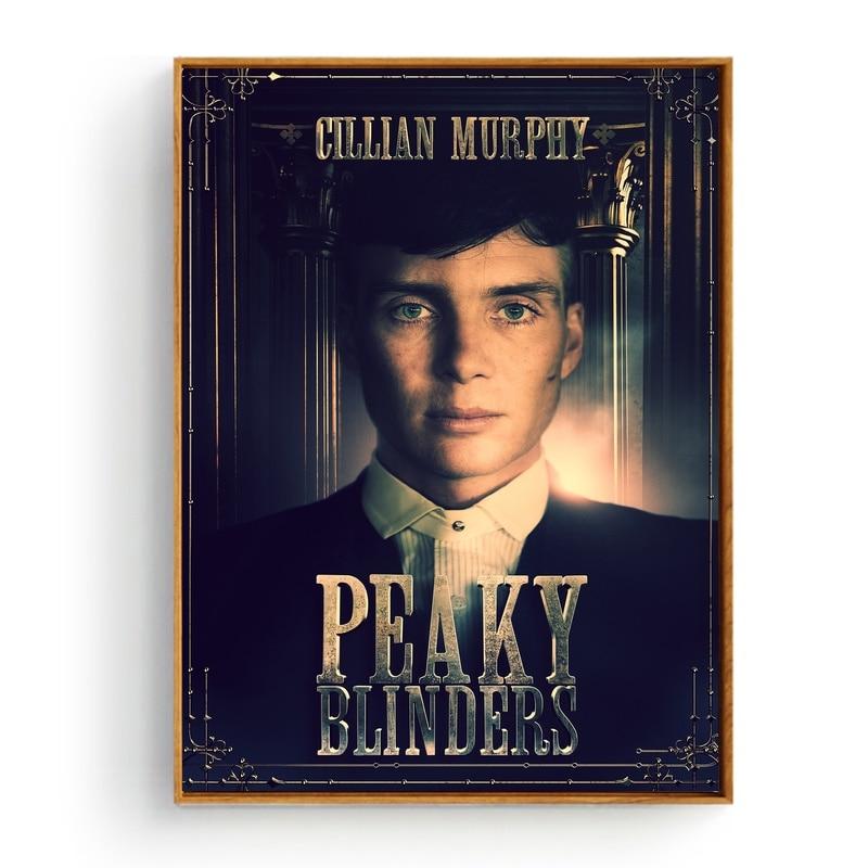 Peaky Blinders Minimalist TV Series Art Silk Poster 12x18 24x36