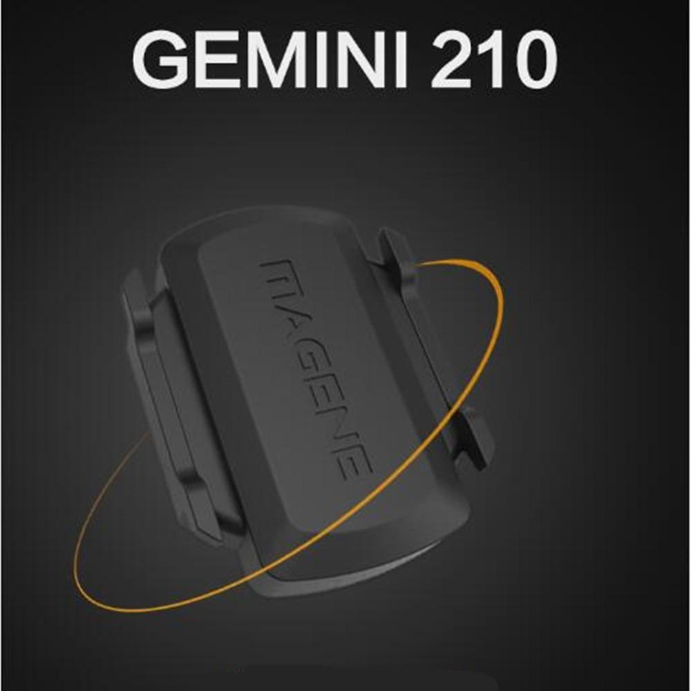 Sensore di Cadenza Sensore ANT + Bici del calcolatore della bicicletta tachimetro Velocità Bluetooth LE Intelligente Fitness per garmin bryton computer