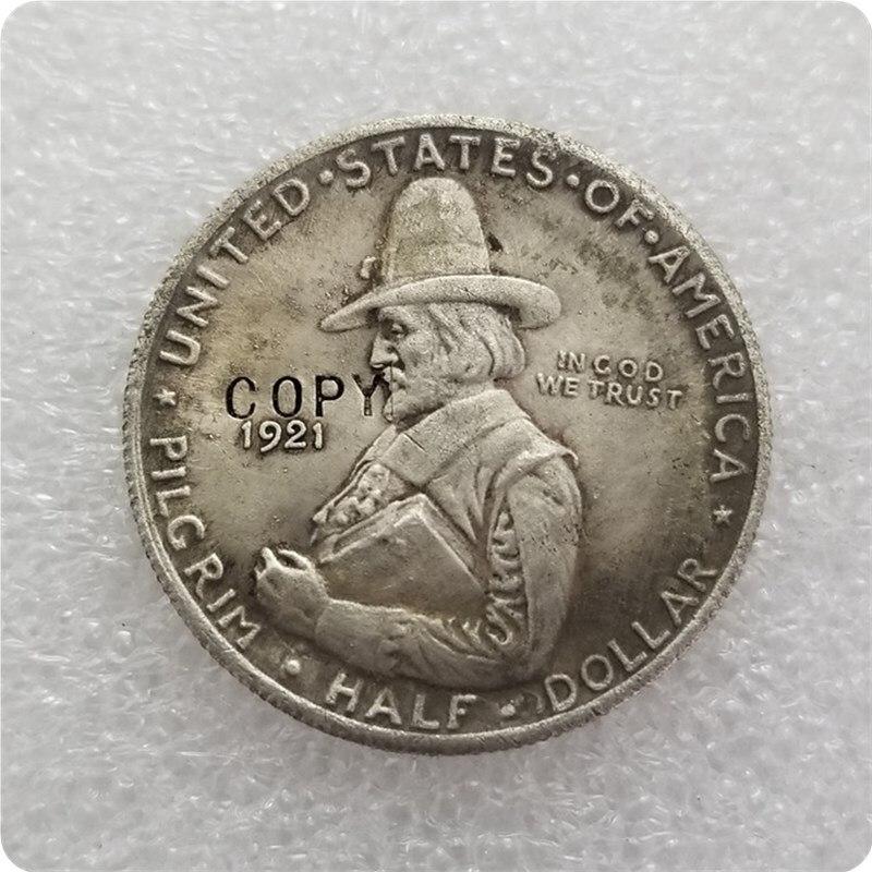 USA 1921 Pilgrim Commemorative Half Dollar  COIN COPY