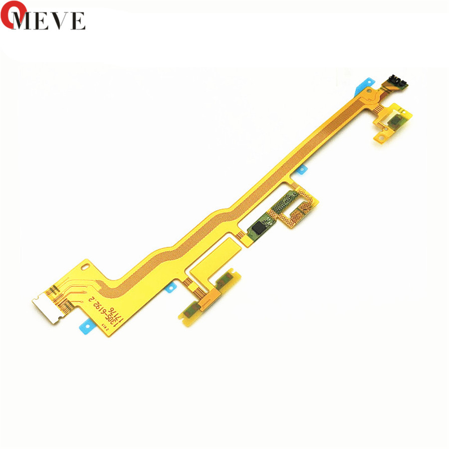 Original Power Button On/Off Volume Camera Switch Connector Ribbon Flex Cable For Sony Xperai XZ Premium XZP G8142 G8141