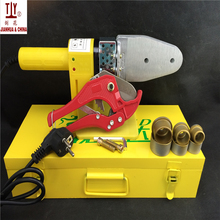 High Quality DN20-32mm Small Socket Butt Welders, PPR Pipe Hotmelt Machine, Thermal Welding, 42mm Pipe Cutter For Free portable welding machine professional butt welder in size dn20 dn40 for kinds of plastic pipe fittings socket fusion connect