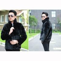 Cheap New Winter 2016 Men S Fake Fox Fur Imitation Mink Coat Tide Models Men S