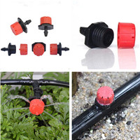 1000pcs/pack Red Adjustable Dripper Emitter on Barb For Water an Individual Plant or Group of Plants Dripper Irrigation N109