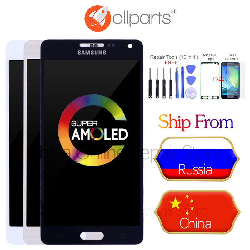 AMOLED LCD for SAMSUNG Galaxy A5 2015 Display A500FU A500 A500F A500M Touch Screen Digitizer For SAMSUNG Galaxy A5 Replacement