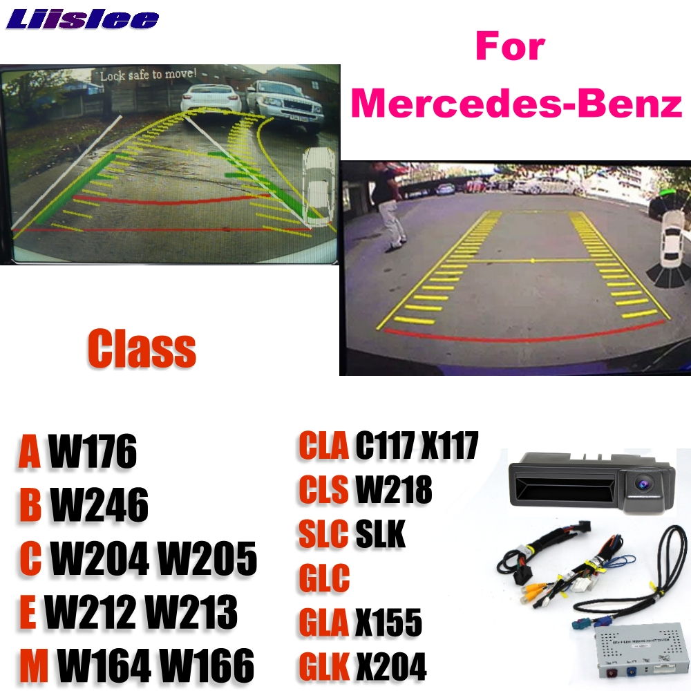 Reversing Camera Interface Backup Original Monitor Upgrade For Mercedes Benz MB A B C E M CLA CLS SLC SLK GLC GLA GLK NTG SYSTEM in Vehicle Camera from Automobiles Motorcycles