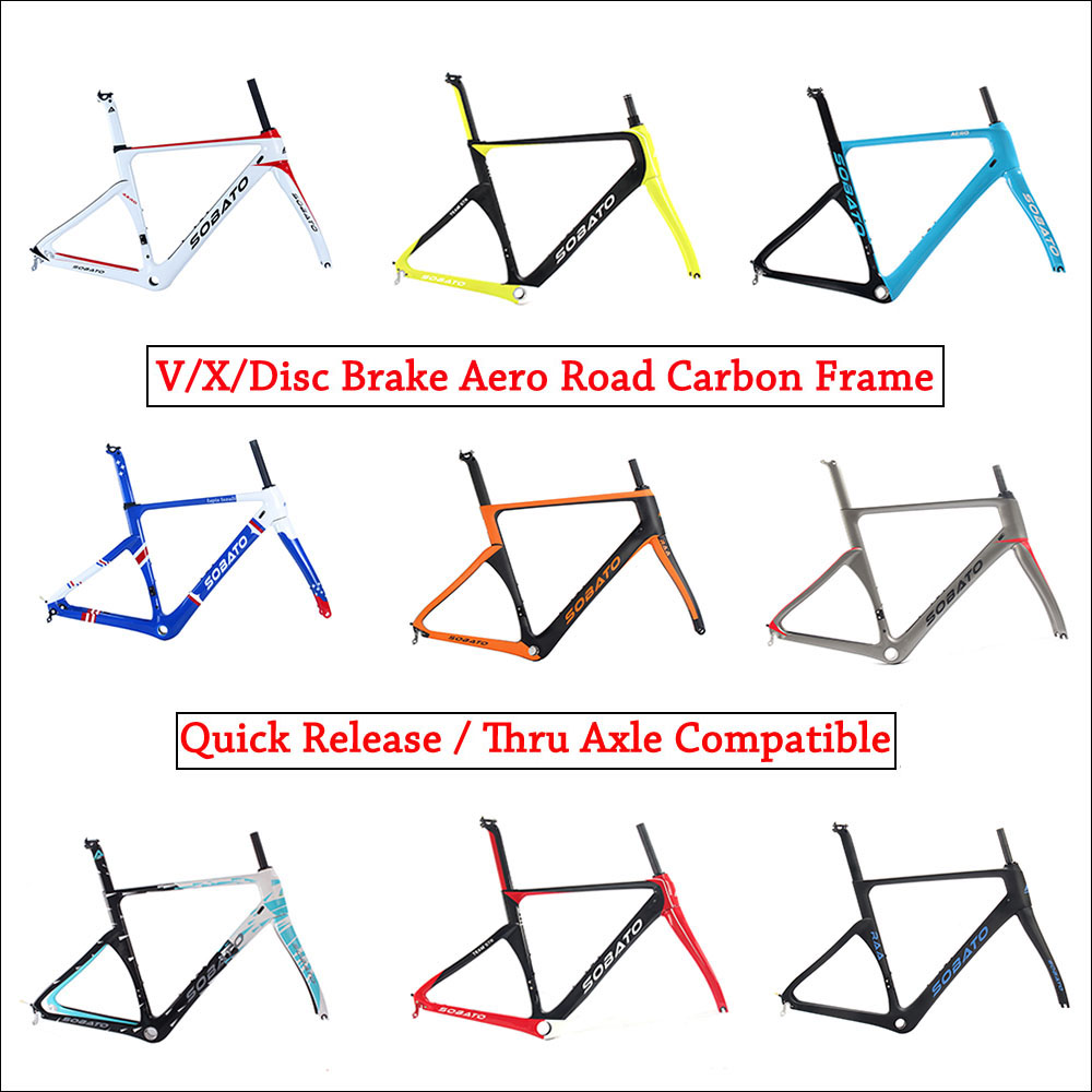 NEW !! high end aero carbon road frame 700c ud only carbon bike frame diy custom design available telaio bici da corsa carbonio track frame fixed gear frame bsa carbon 1 1 2to 1 1 8 bike frameset with fork seatpost road carbon frames fixed gear frameset