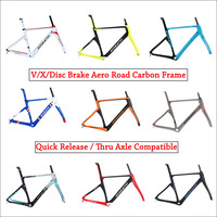 NEW High End Aero Carbon Road Frame 700c Ud Only Carbon Bike Frame Diy Custom Design