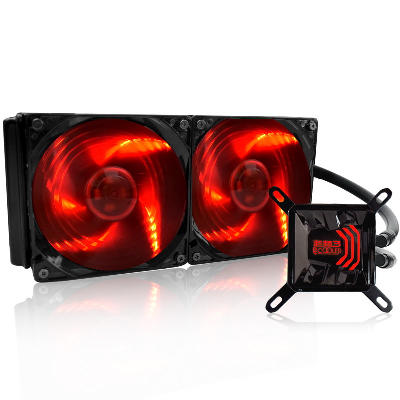 PCCOOLER Waves 240 water cooling radiator row of water-cooled suit аксессуары для детей