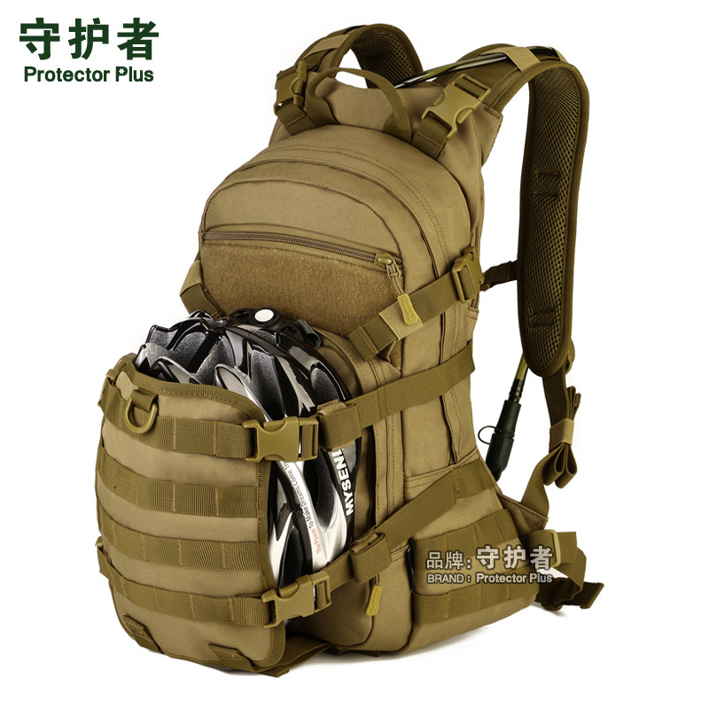 25 Liter Speed Cycling Package Outdoor Tactical Backpack Mountaineering Rucksack  design for  Bike Helmet and Water Bag A2672~x fire maple sw28888 outdoor tactical motorcycling wild game abs helmet khaki