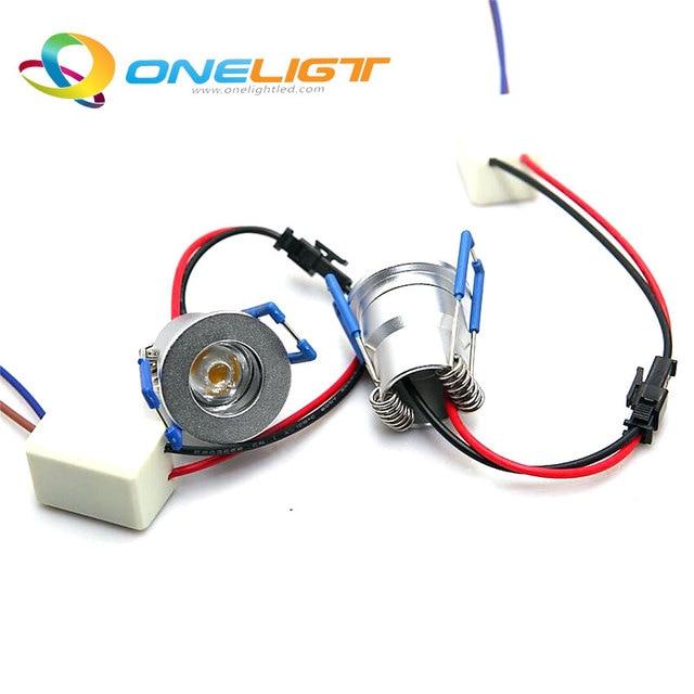 10pcs/Lot 1*3W Mini LED downlight round ceiling spot lights 110V 220V LED panel light Recessed Aluminum lamp Warm White