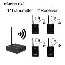 2,4 GHz TP-Drahtlose Digitale Drahtlose Bühne Monitor System HDCD Professionelle Audio Übertragung Effektive 1 Sender NReceivers