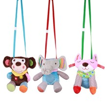 Baby Feeding Bottle Plush Pouch Cover Insulation Anti-scalding Cute Animals Toy Keep Warm AN88