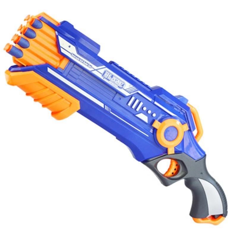 Eva2king balle molle jouet pistolet balle costume pour Nerf pistolet armes Pistola pistolet avec Pulka jouet pistolet costume pour Nerf jouet pistolet cadeau - 6