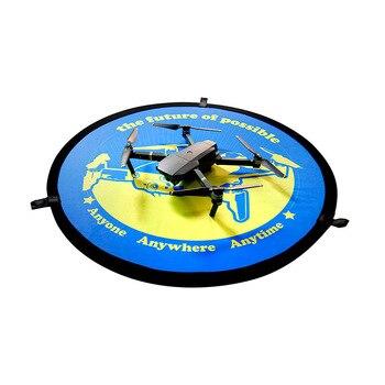 75cm Drone Landing Pad 2-Sided Waterproof Landing Pad Foldable Parking Apron Pad for DJI Mavic Pro 2 Spark FIMI A3 Hubsan Zino drone helipad