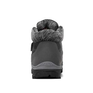 Image 5 - TUINANLE 2020 zimowe buty ciepłe buty na śnieg wodoodporne buty z zamszu kobiece kostki buty na platformie Plus rozmiar buty wojskowe kobiet