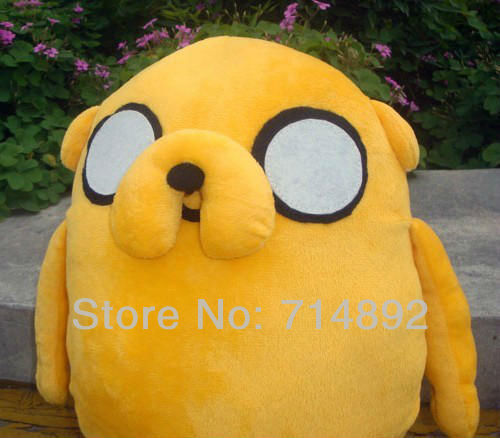 "10pcs/lot Adventure Time Plush Toys, Jake Plush Dolls, 14"" Super Cute Gift"