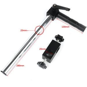 Image 5 - 7 45X 3.5X 90Xサイマル焦点三眼実体顕微鏡シングルアーム回転ブラケット補助対物レンledランプ