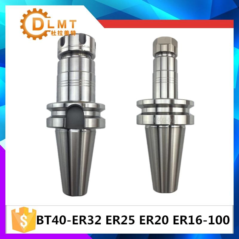 High Precise BT40 ER16 100L CNC Milling Chuck Holder Milling Workholding