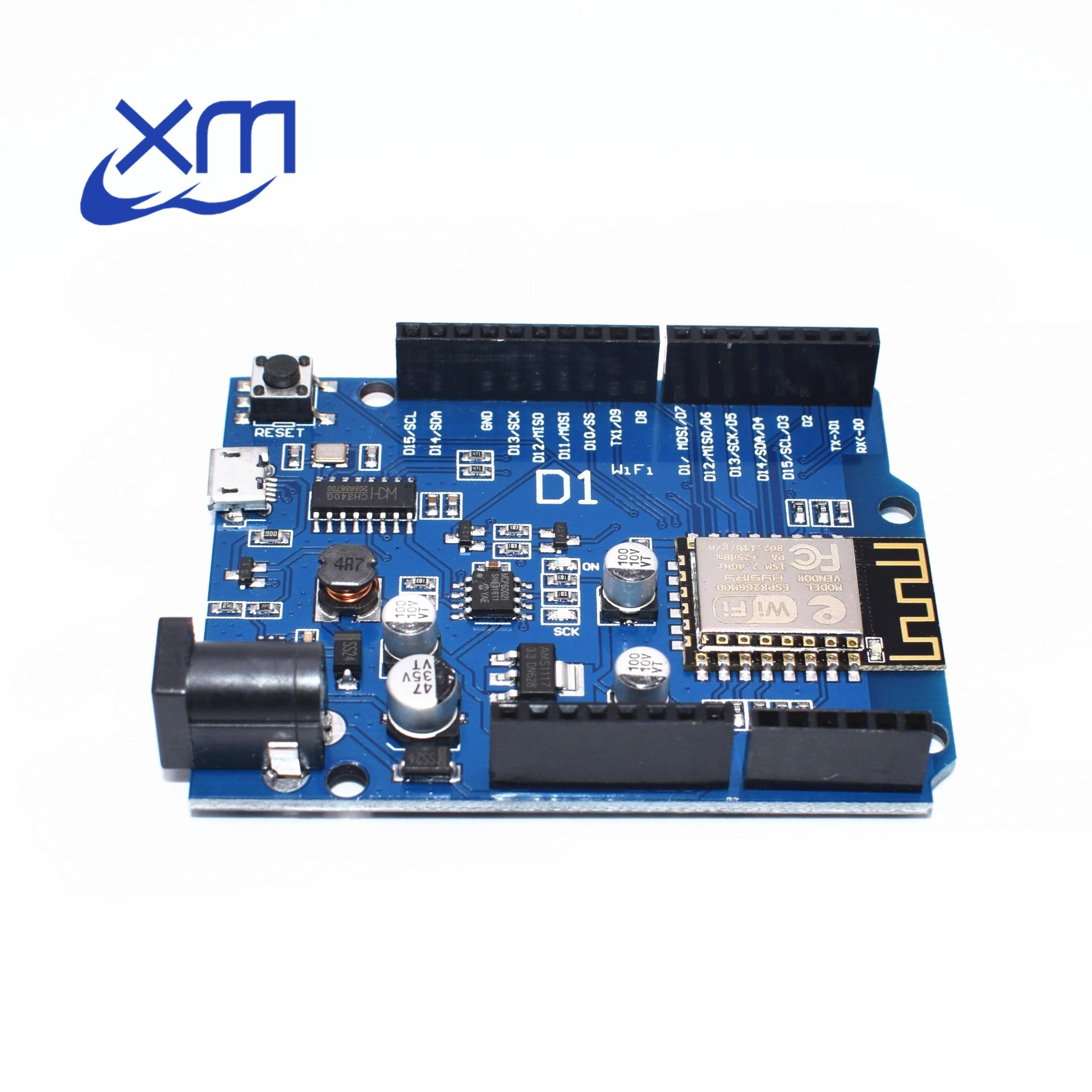 20PCS Smart Electronics ESP-12F D1 WiFi uno based ESP8266 shield Compatible IDE(lan) C72