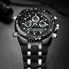 Readeel haut Sport Quartz montre bracelet hommes militaires montres imperméables Led montres numériques hommes Quartz montre bracelet mâle - 2