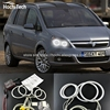 HochiTech Ccfl Angel Eyes Kit White 6000k Ccfl Halo Rings Headlight For Opel Zafira B 2005