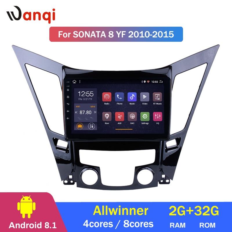 2G RAM 32G ROM 9 inch Android 8.1 For HYUNDAI Sonata 8 Sonata YF 2010-2015 HD Car GPS Navigation support swc2G RAM 32G ROM 9 inch Android 8.1 For HYUNDAI Sonata 8 Sonata YF 2010-2015 HD Car GPS Navigation support swc