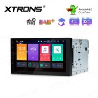 7 Octa Core Android 9.0 Oreo OS Double Din Car Multimedia Two Din Car Navigation GPS 2 Din Car Radio with 4GB RAM 32GB ROM