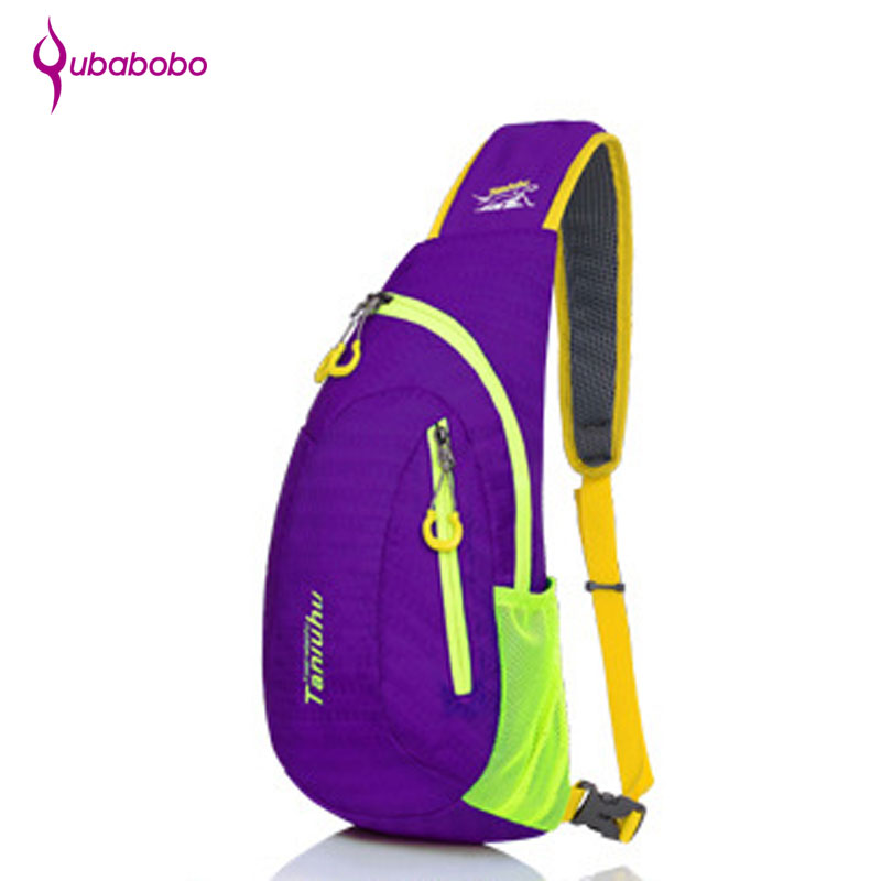 [QUBABOBO] 5L Unisex Nylon Waterproof Professional Training Chest Sport Bags Running Trekking Climbing Hiking Bags Gym Rucksack