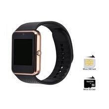 GT08 relogio relojes Con ranura para Tarjeta Sim Bluetooth Reloj Inteligente dispositivos portátiles Para Apple iphone Samsung android u8 pk dz09 reloj