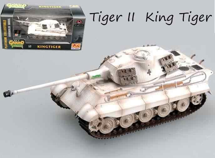 Ww2 Alman Kral Kaplan 2 Tanki Modeli Kis Kamuflaj Boyama 1 72
