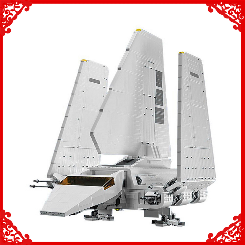 LEPIN 05034 Star War Series Imperial Shuttle Building Block 2503Pcs Educational Construction Assemble Toys For Children lepin 22001 pirate ship imperial warships model building block briks toys gift 1717pcs compatible legoed 10210