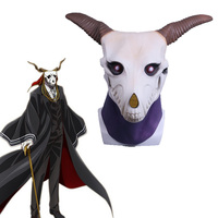 Anime The Ancient Magus' Bride Elias Ainsworth Cosplay Latex Mask Prop Halloween Masks