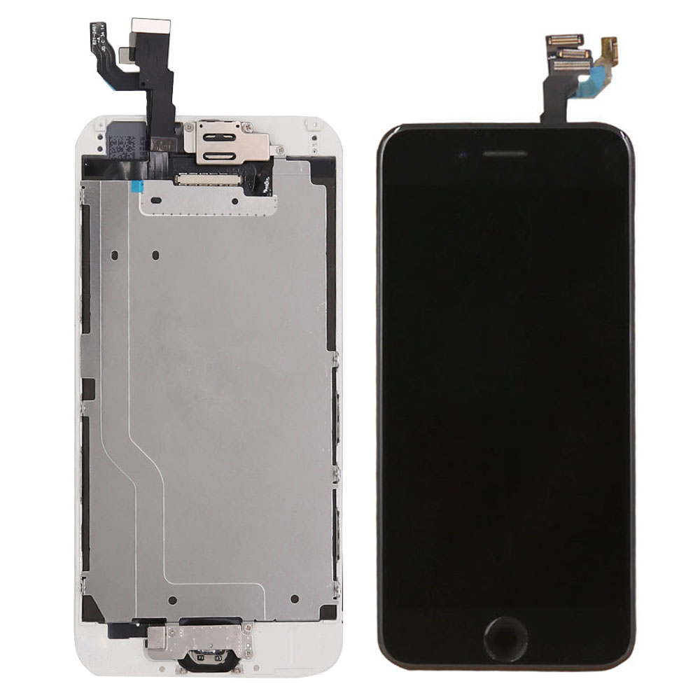 Image 2 - Full set screen For iPhone 6 6G 6 plus Screen LCD Replacement Display ,complete With Home Button Front Camera Speaker-in Mobile Phone LCD Screens from Cellphones & Telecommunications on