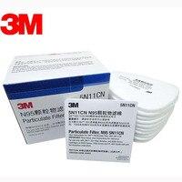 Veel VAN 3 M 5N11 Respirator Filter Verf Spuiten Gezicht Gas Masker Vervangen Fitting Voor 3 M 6000 7000 serie Stofmasker