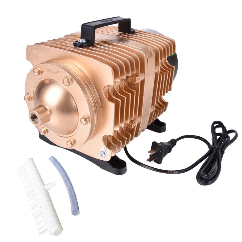 ACO 009E 145L /min 0.040Mpa 160W bubble Aquarium Koi fish tank oxygen Hailea Electromagnetic air compressor air pump AC 220 V