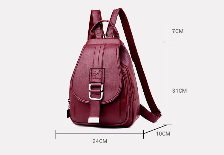 HTB1yRLNPXzqK1RjSZFoq6zfcXXam atinfor Brand Anti Theft Women Leather Backpacks Purse Vintage Female Shoulder Bag Travel Small Backpack Lady