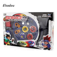 Elsadou Beyblade Burst Arena Spinning Top Fight Beyblad Toupie Fusion Children Gifts Classic Toys