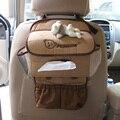 Bear auto upholstery supplies car tissue box set car accessories exhaust pipe car tissue box set
