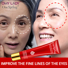 OMY LADY ONE SPRING Eye Cream Anti Wrinkle Moisturizing Reduce Dark Circle Firming eyes skin care Anti-Aging Moisturizing cream(China)