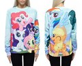 Hot Fashion My Little Pony Couples Sweats Men Women Sweatshirt Unisex Full 3D Tops Casual Shirt Bottoms