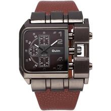 OULM 3364 Montres Hommes Marque De Luxe DZ Conception Quartz Montre Squartz Cadran Bracelet En Cuir Mâle Militaire Antique Horloge Relojes Hombre