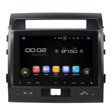 Car GPS Video Player for Toyota Land Cruiser 2012-2015 Pure Android 5.1 Car Multimedia Player